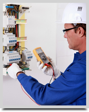 Professional Electrican in Morecambe working